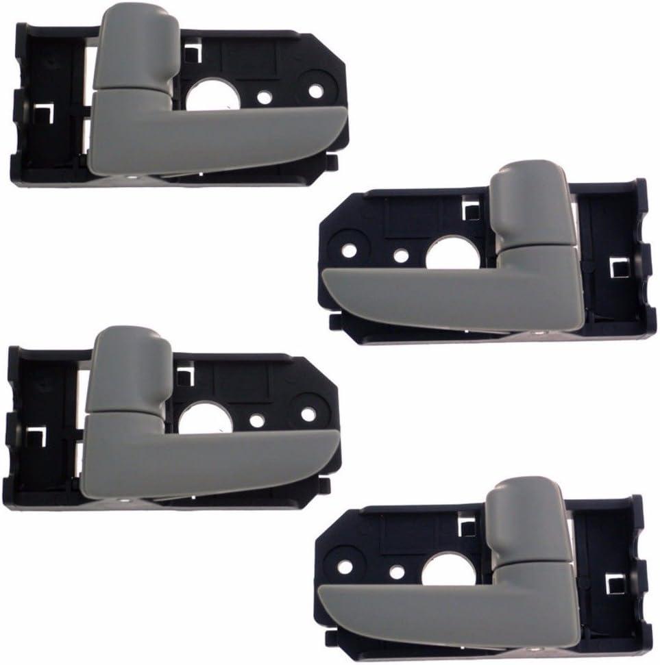 New OEM CHROME Rear Left /& Right Inside Door Handles Fit 2011-2013 Kia Optima