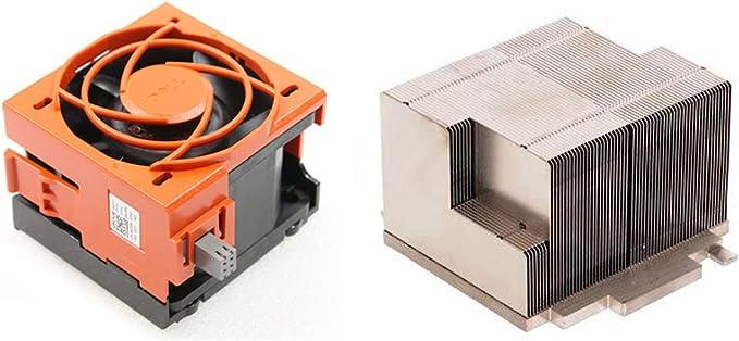Fan TY129 90XRN CPU2 Upgrade Kit 1pcs For DELL R710 Server Radiator