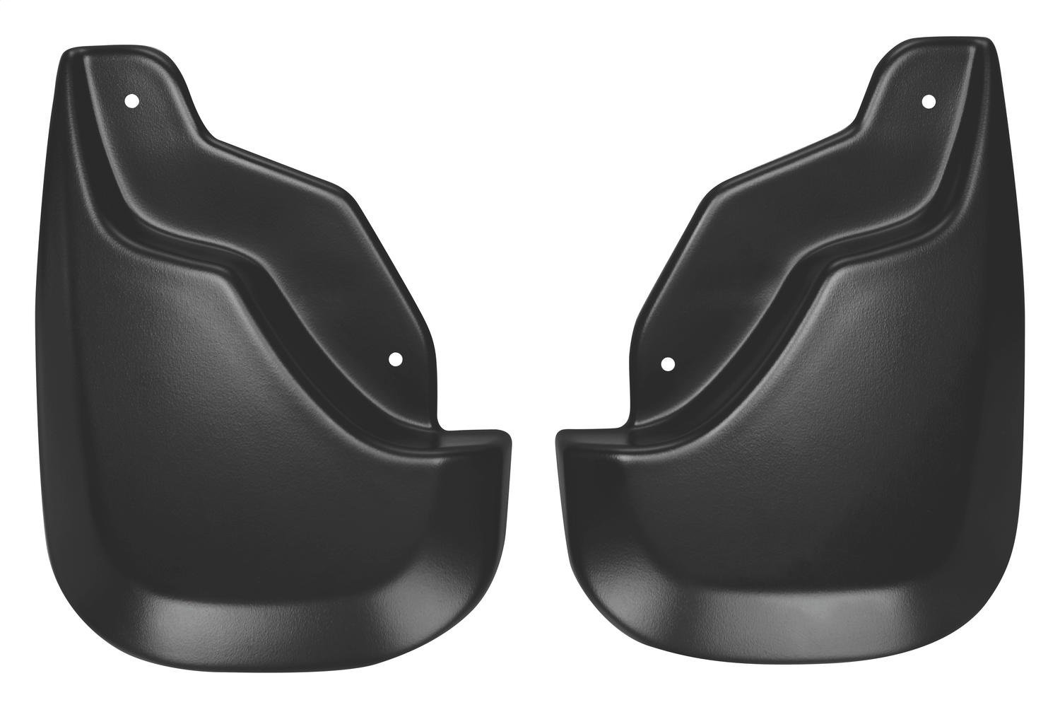 Husky Liners 58411 Black Front Custom Molded Mud Guard