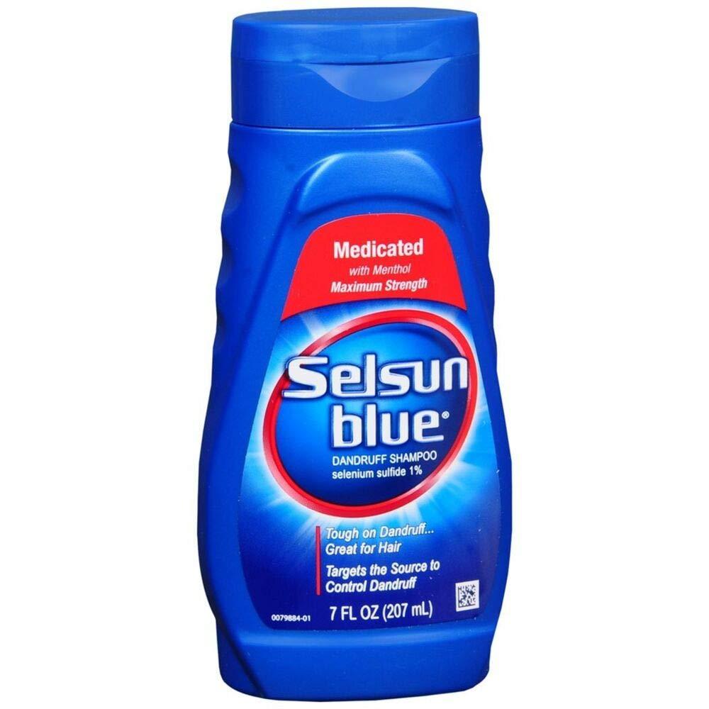 Selsun Blue Med Shmp 7z Size 7z Selsun Blue Medicated Dandruff Shampoo by Selsun Blue