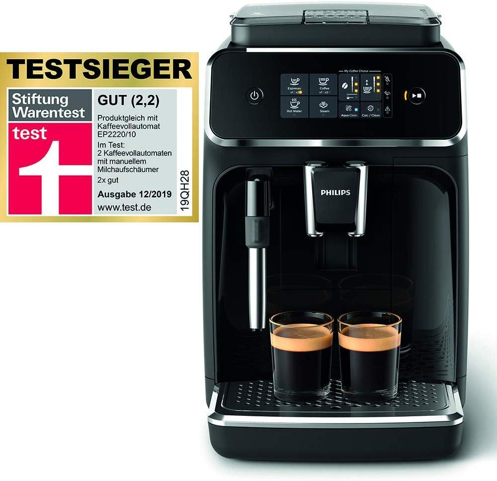 Philips 2200 Serie EP2221/40 Kaffeevollautomat Test