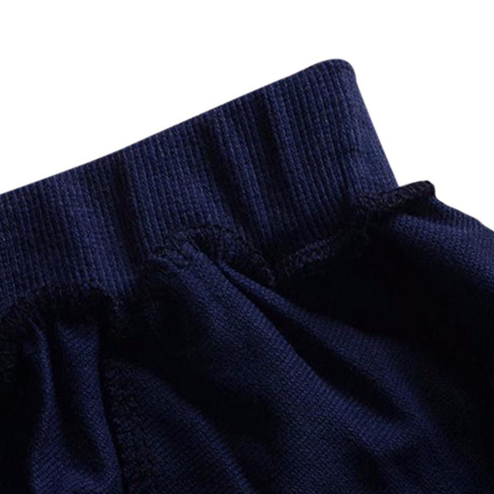 Loveble V/êtements de Gar/çon B/éB/é 2pcs Ensemble de V/êtements Gar/çon Fille Rayures T-Shirt /à Manches Longues /& Leggings Pantalon