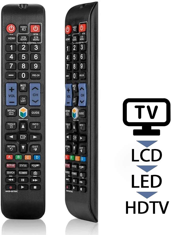 Universal-Remote-Control-for-Samsung-Smart-TV LCD LED HDTV 3D: Amazon.es: Electrónica