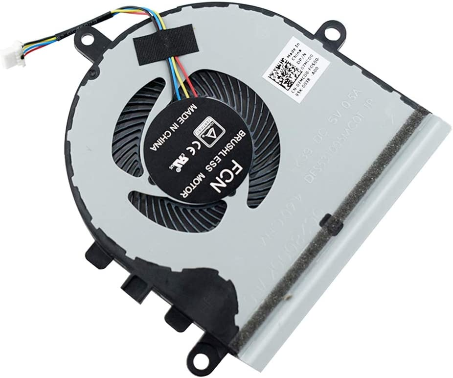 Rangale Replacement CPU Cooling Fan for Inspiron 15 5570 5575 3533 3583 3585 5593 Series Laptop 07MCD0 CN-07MCD0