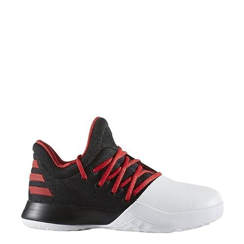 f15611153c60c adidas Harden Vol 1 Ps Black/Scar/White Ps Basketball (B49608)