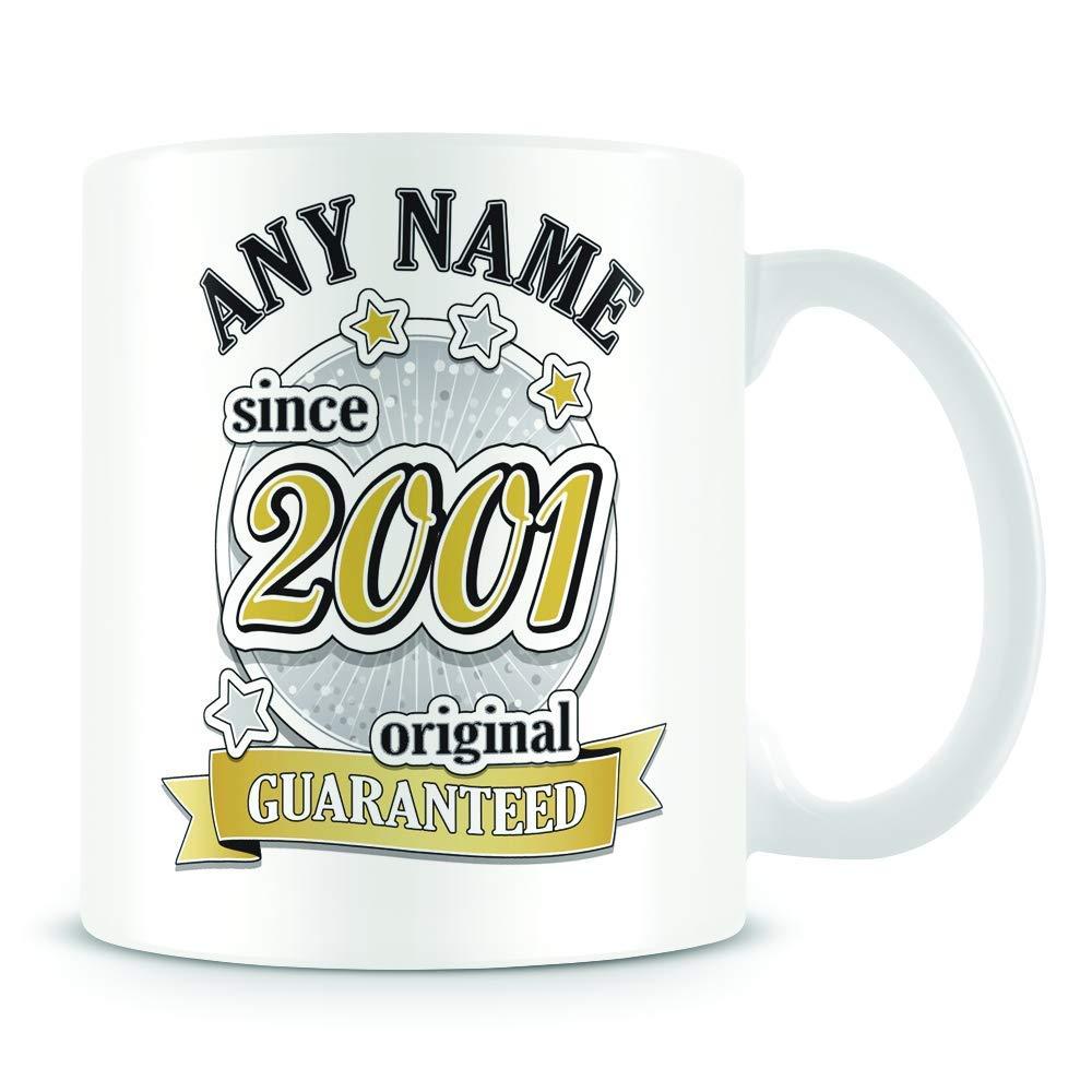 Original 2001-18th Birthday Gift 18th Birthday Mug for Women and Men