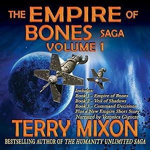 The Empire of Bones Saga, Volume 1 Audiobook