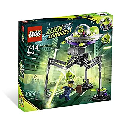 LEGO Space Tripod Invader 7051: Toys & Games