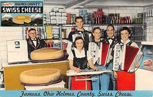 - Apple Creek Ohio Camills Swiss Cheese Interior Vintage Postcard K93612