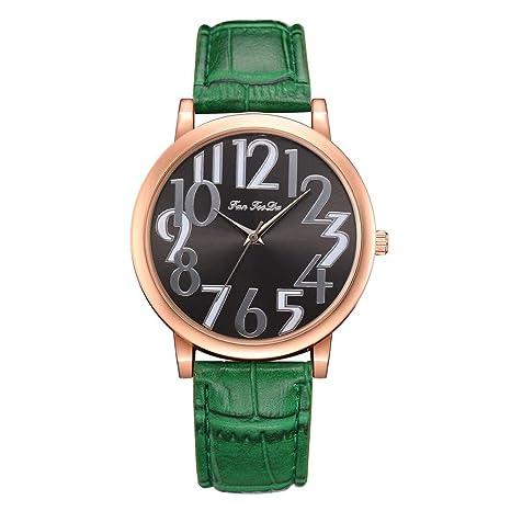 WZFCSAE para Mujer Relojes de Pulsera Fanfeeda Relojes de Moda ...