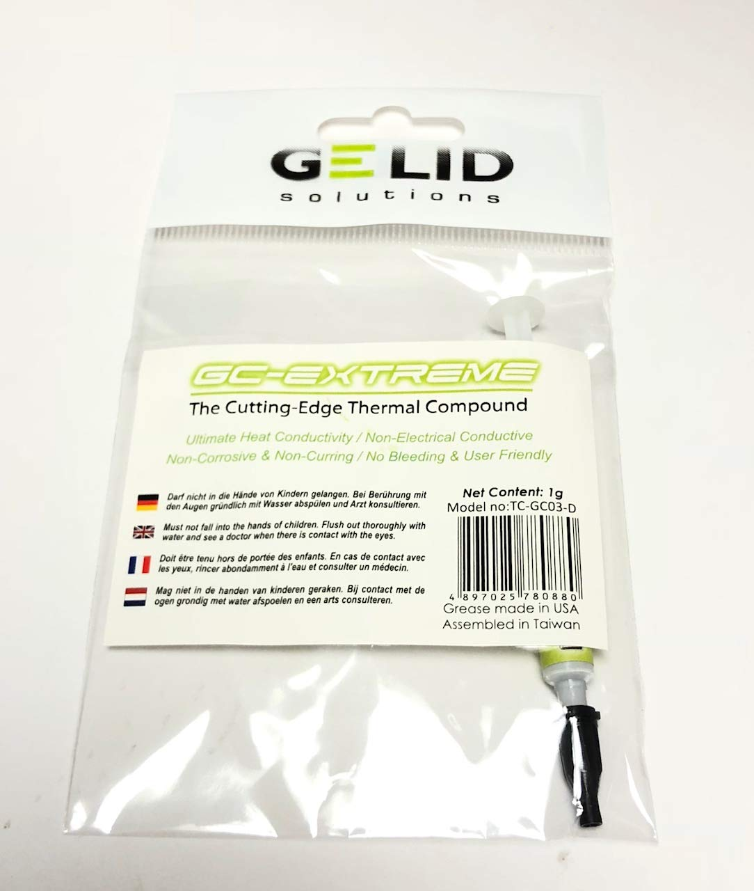 GELID GC-Extreme 3.5g con herramientas - Pasta conductora térmica ...