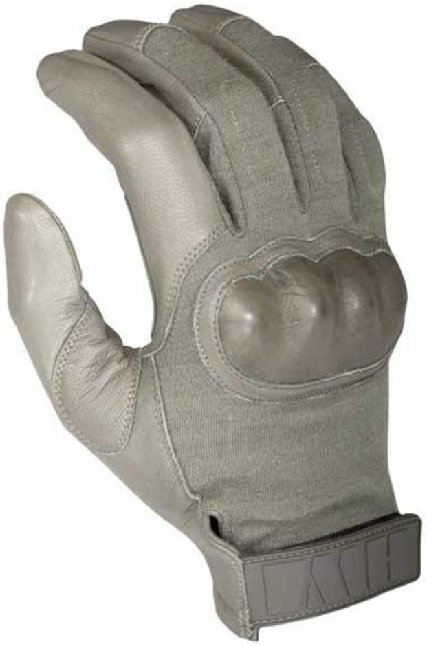 HWI Gear Hard Knuckle Tactical Gloves, Tactical Green