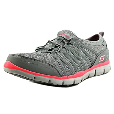 32cc4cbf31d6 Skechers Womens Gratis Shake It Off Shoes in Grey  Amazon.co.uk ...