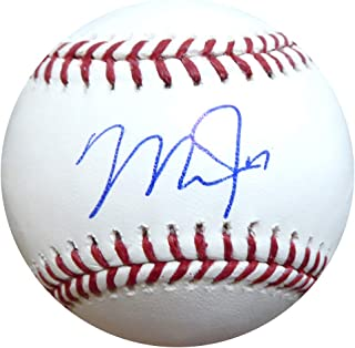 Mike Trout Autographed Official MLB Baseball Los Angeles Angels MLB Holo Stock #145110