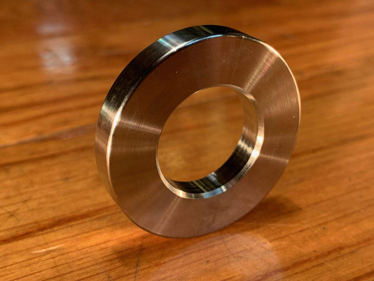 """1 pc Extsw 1//4/"""" ID x 3//4/"""" OD x 1 inch long 316 Stainless Spacer"""