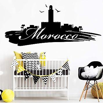 ZRSCL Creativo Marruecos vinilo autoadhesivo papel tapiz para sala ...