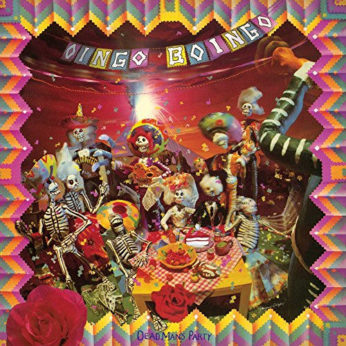 Original album cover of Dead Man's Party [Deluxe LP Reissue][Colored Vinyl] by Oingo Boingo