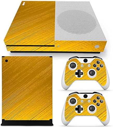XBOX ONE S Skin Design Foils Pegatina Set - Gold Motivo: Amazon.es: Videojuegos