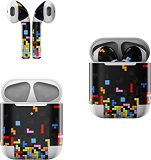 product image for Skin Decals for Apple AirPods - Tetrads - Sticker Wrap Fits 1st and 2nd Generation