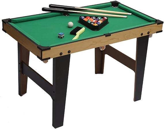 Anna de Regalo Plegable 80 * 45 * 60 cm Mesa de Billar Mesa de Billar Snooker Mesa Parte el Mini de Billiard Compone el Billiard Cue, el Billiard Ball, de Tiza,