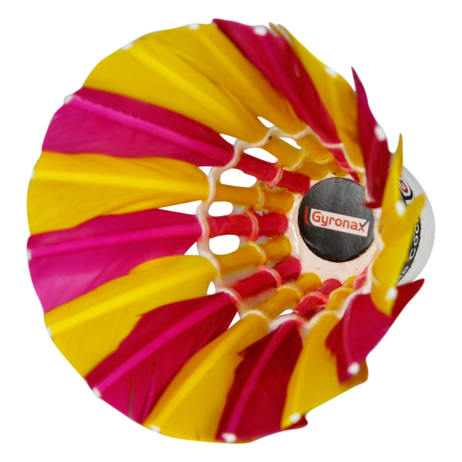 Gyronax multiclr A3 Premium Feather Badminton Shuttlecock (Pack of 10) product image