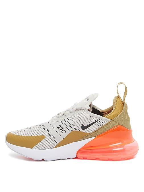 Amazon.com | NIKE W AIR MAX 270 Womens Fashion-Sneakers bstn_AH6789-700_7.5 - FLT Gold/Black-Light Bone-White | Fashion Sneakers