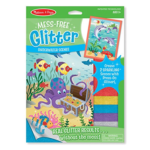 Melissa & Doug Mess-Free Glitter Activity Kit - Underwater -