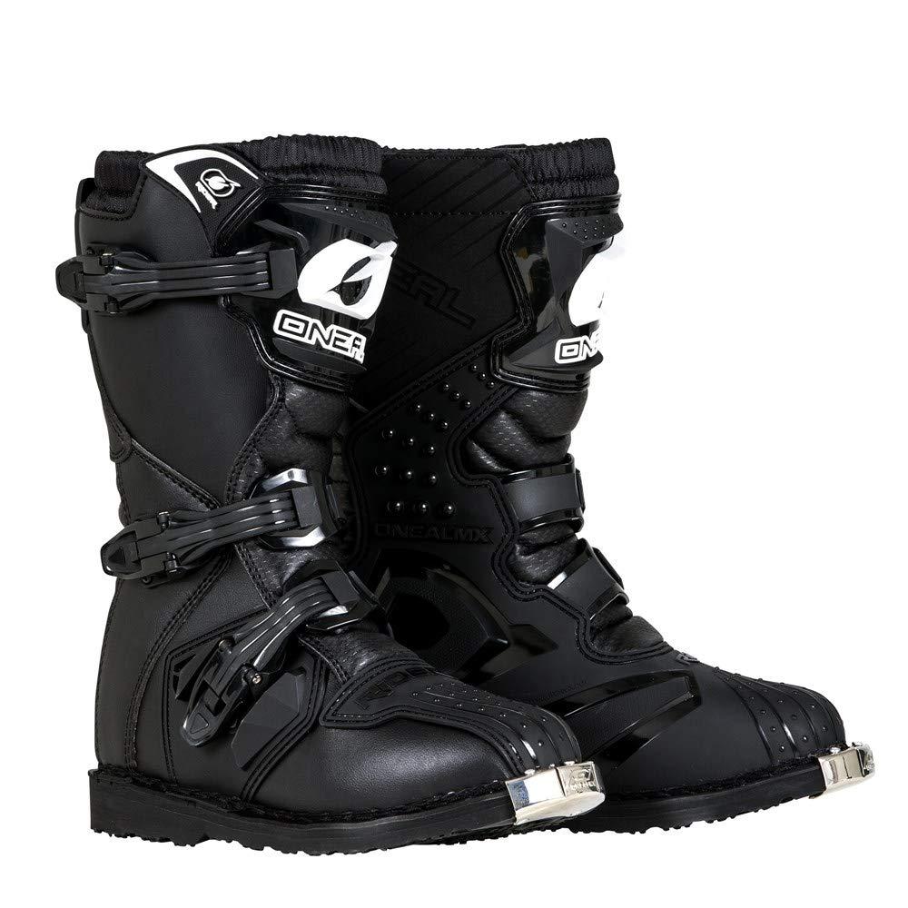 O'Neal Boys New Logo Rider Boot (Black, K10)