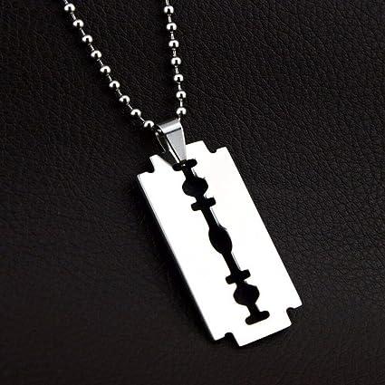 e0fc7a3c1109 Amazon.com  FidgetGear Collares Cadenas de Oro para Hombre 18K Joyas ...