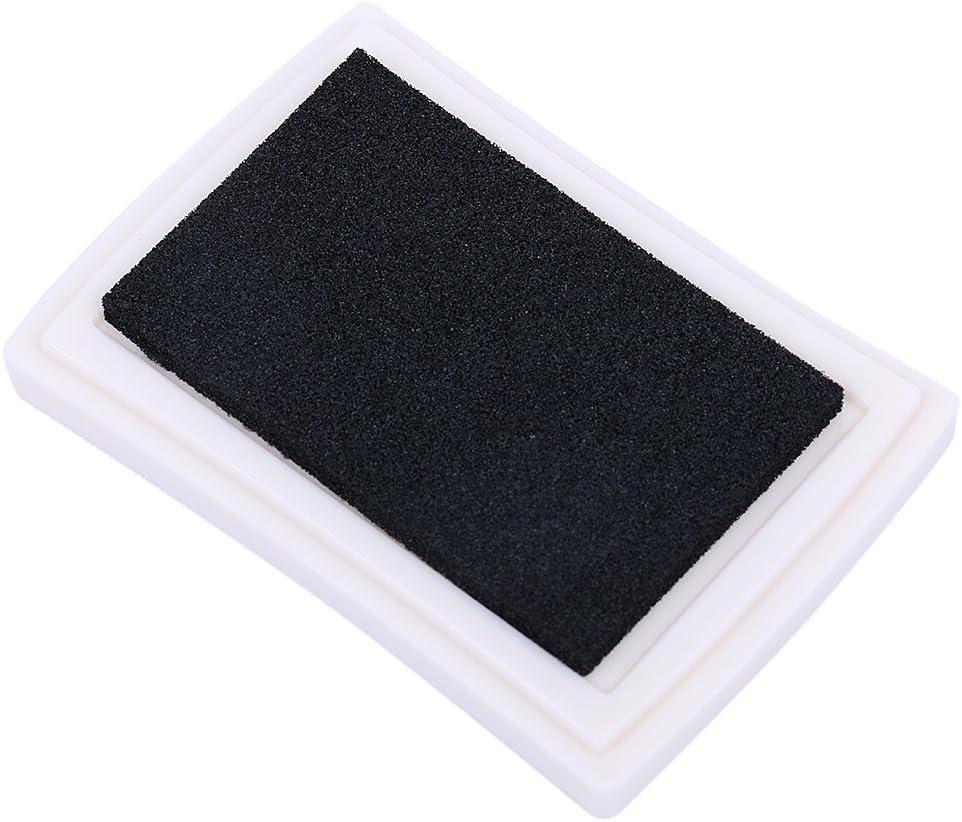 Tissu en Bois B FLAMEER 2 Tampons Encreurs Artisanaux Timbres Partenaire Couleur Bricolage 2 Tampons Encreurs Artisanaux Couleurs pour Timbres-Poste Papier