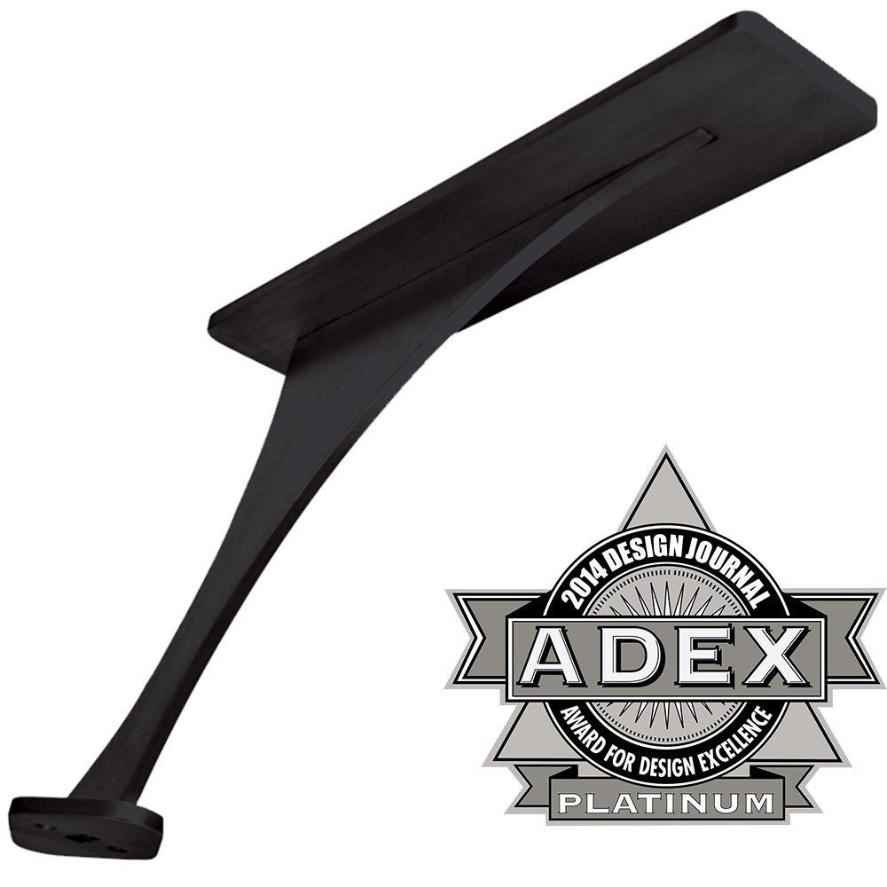 Foremont Counter Mounted Support Bracket - Federal Brace - Made in America (Black)
