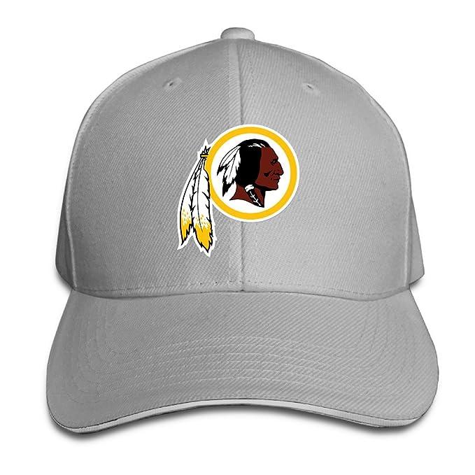 65938177 HQMV Washington Redskin Adjustable Outdoor Sandwich Peaked Caps Hats For  Unisex