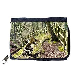 le portefeuille de grands luxe femmes avec beaucoup de compartiments // M00156922 Bosque del árbol de los árboles Rama // Purse Wallet