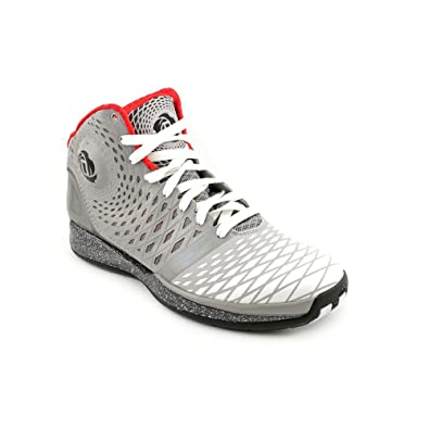 c4f15c0d7ee3 Adidas Derrick D Rose 3.5 G59649 Aluminum White Black Men s Basketball Shoes  (Size