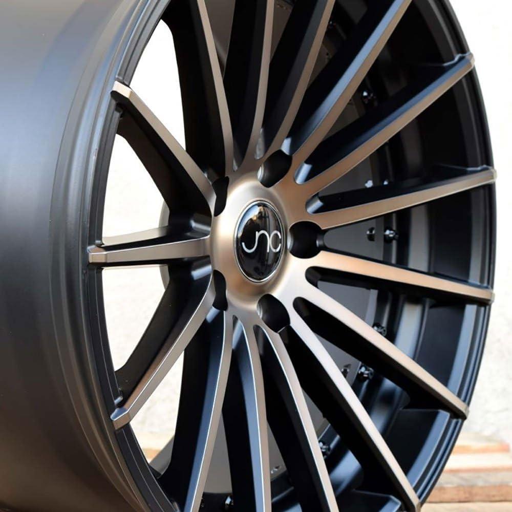 JNC Wheels 18 JNC042 Matte Black Machined Bronze Face Rim 5x120-18x8.5 inch