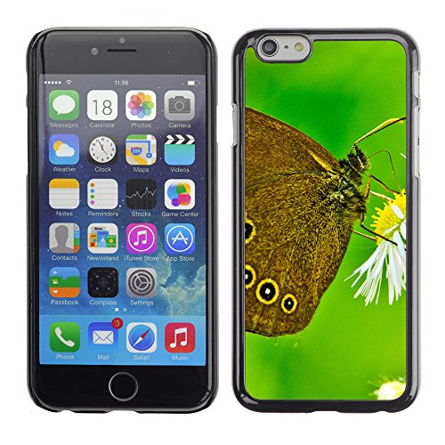 Premio Sottile Slim Cassa Custodia Case Cover Shell // V00003062 papillon close up // Apple iPhone 6 6S 6G 4.7""