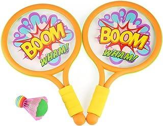Tini Regner Anjanle Ensemble de tennis Raquette de badminton pour enfants adultes