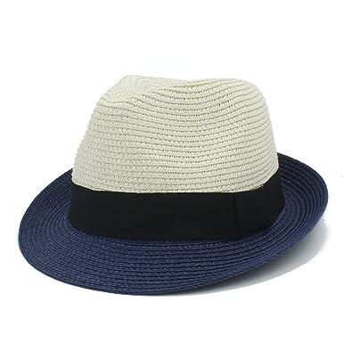 BOLAWOO-77 Sombrero del Sol Paja Sombrero De De Beanie Panamá Mode ...