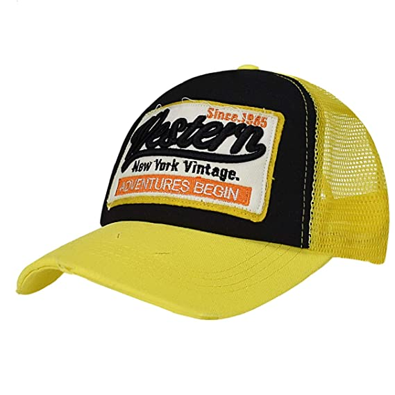 LYworld Gorras Beisbol Deportes Unisex Gorra de Trucker Sombrero de Vintage Gorras de b/éisbol de Hip Hop Bordada de Malla Sombreros para Hombres Mujeres