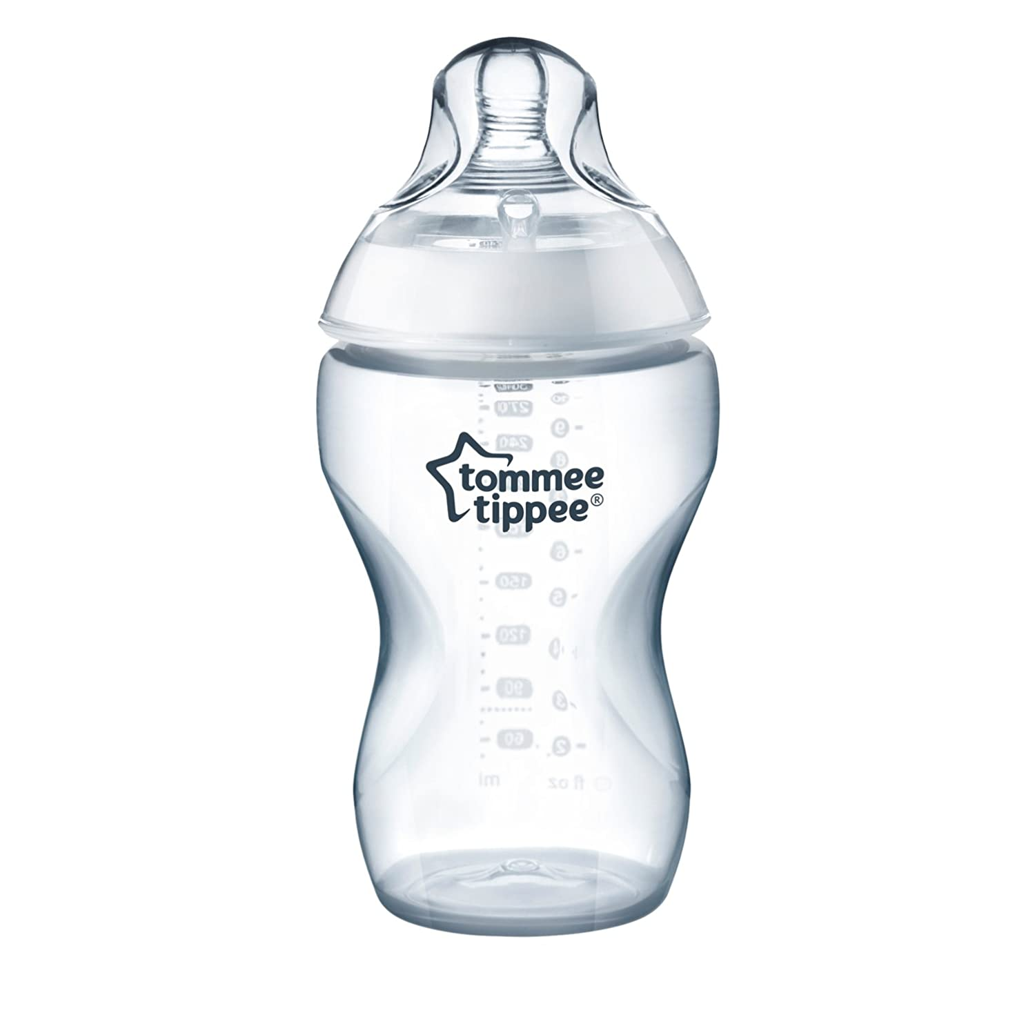 Tommee Tippee Closer to Nature Added Cereal Baby Bottle, 11 Ounce, 3 Count 522543