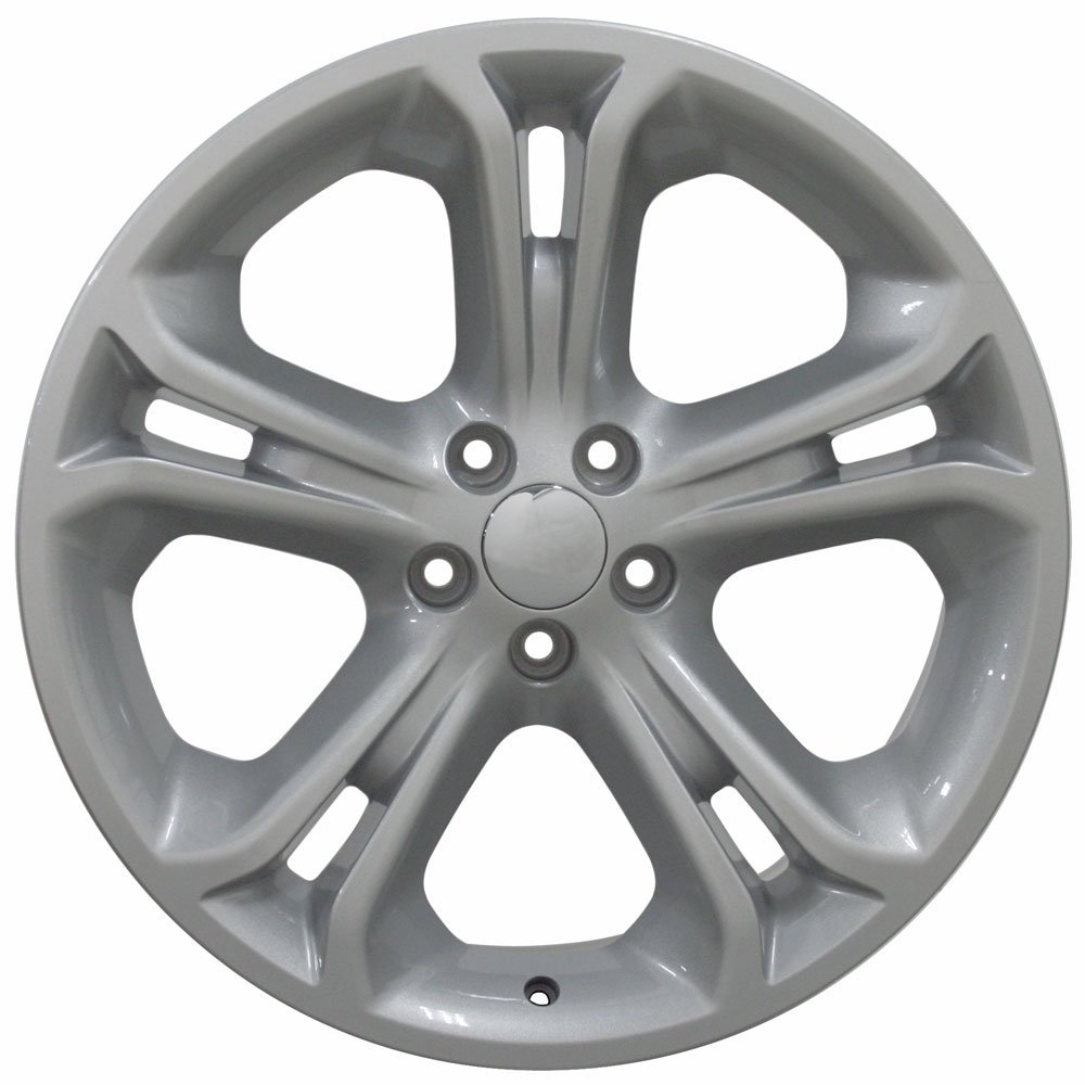 20x8.5 Wheel Fits Ford SUV - Explorer Style Silver Rim, Hollander 3860 by OE Wheels LLC (Image #3)