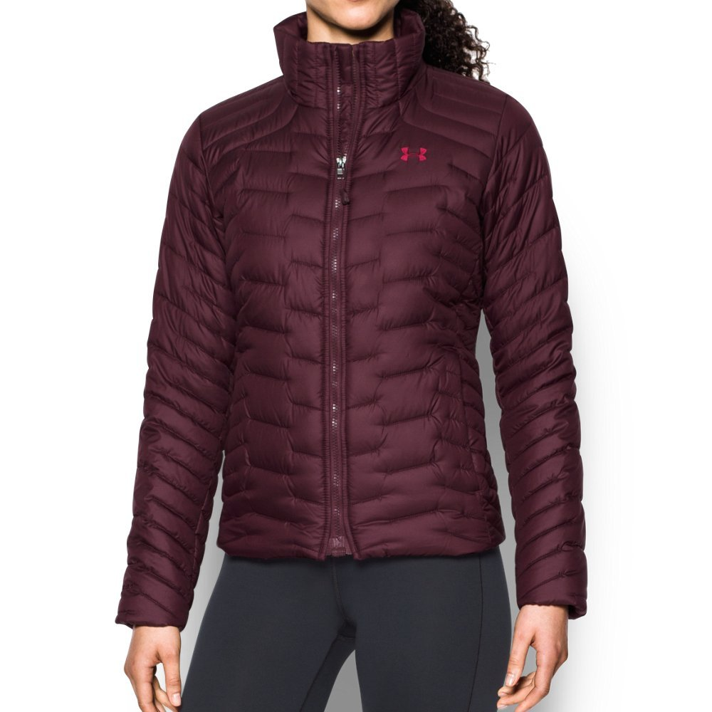 Under Armour Outerwear Under Armour Women's Cgr Jacket, Raisin Red/Black Currant, Medium by Under Armour