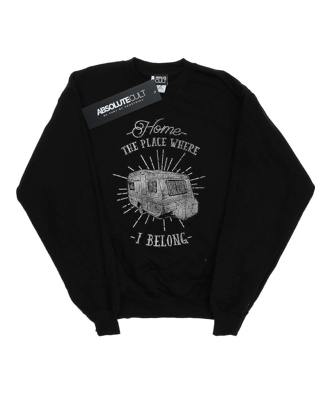 Absolute Cult Drewbacca Womens Home Where I Belong Sweatshirt