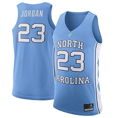 ce103a5b7d18 Michael Jordan Men s  23 Light Blue North Carolina Tar Heels Basketball  Jersey