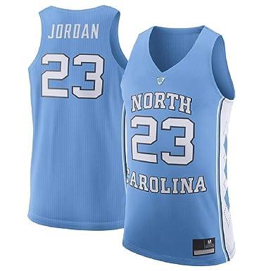 new arrival 5b4aa 5b42d Michael Jordan Men's #23 Light Blue North Carolina Tar Heels Basketball  Jersey