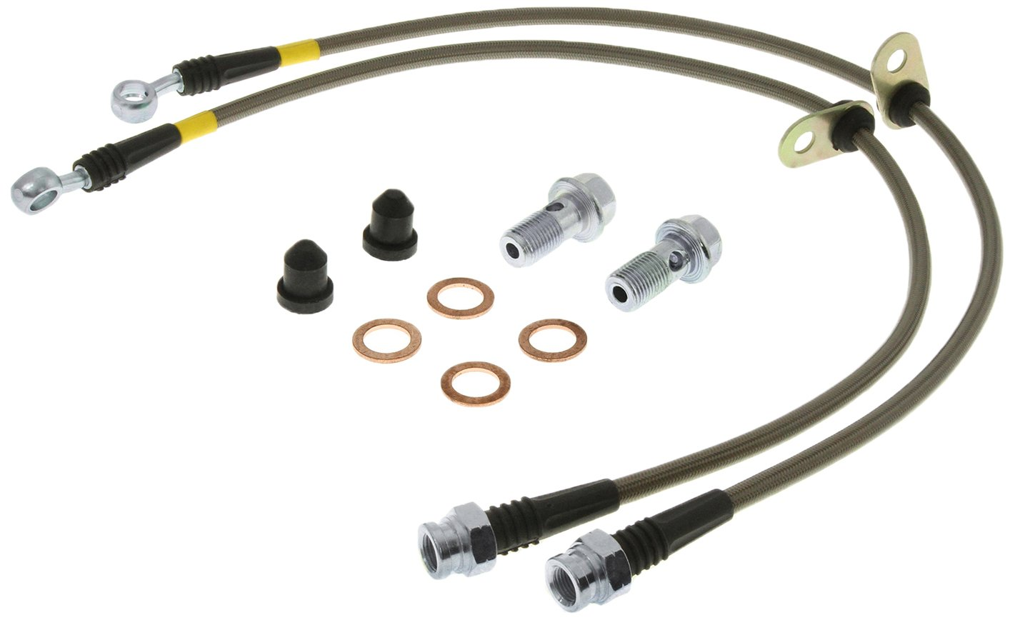 Brake Line Kit StopTech Stainless Steel Power Slot 950.35002