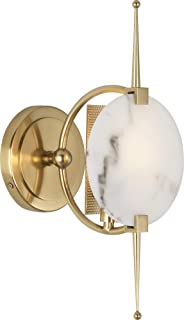 product image for Robert Abbey Jace Modern Brass Plug-in Wall Lamp