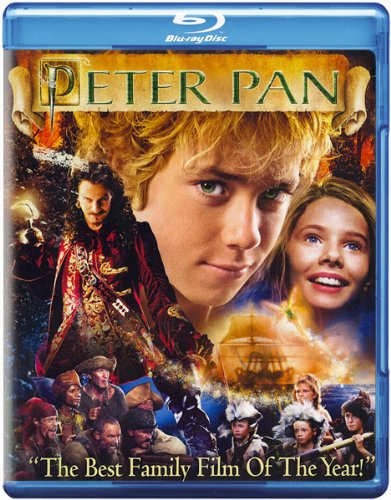 Image result for peter pan 2003 blu ray