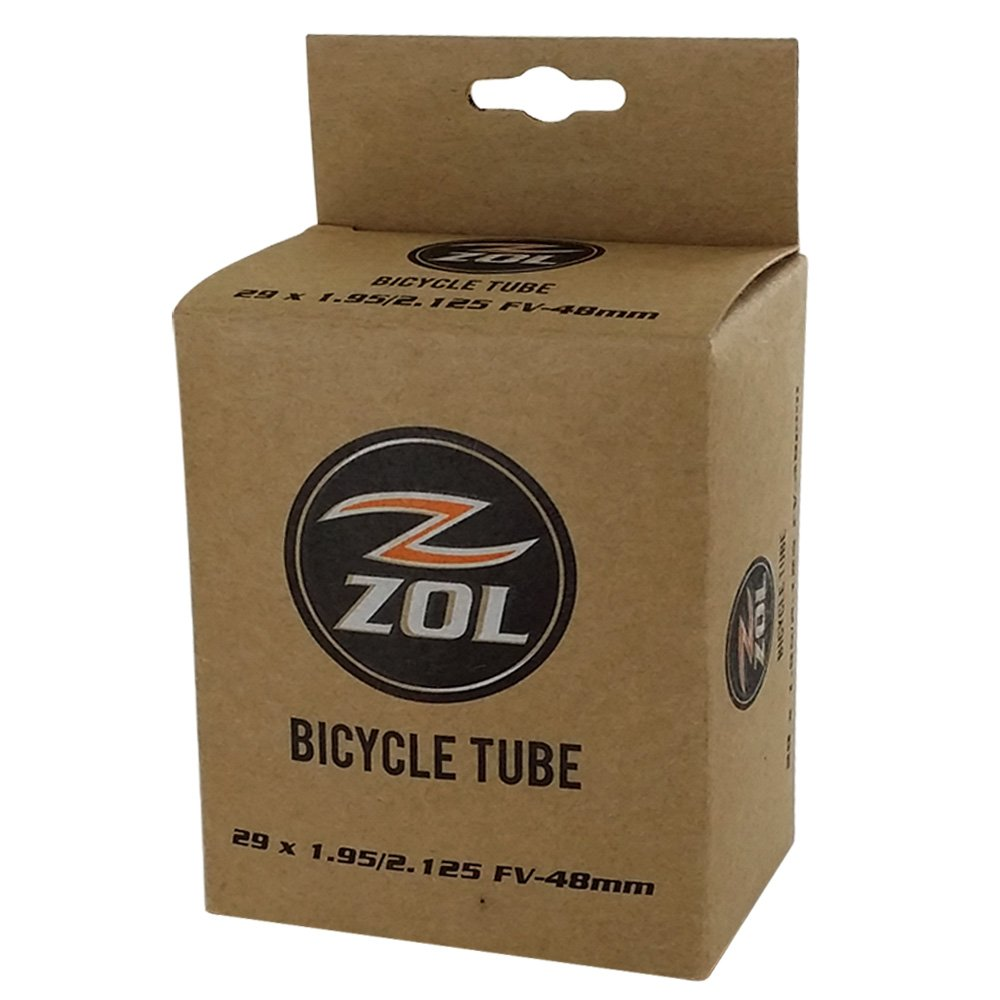 Zol Multipack Mountain Bike Bicycle Inner Tube 29''x1.95/2.125 PRESTA Valve 48mm