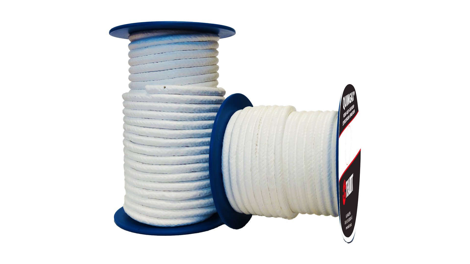 Sterling Seal and Supply (STCC) 24A.375x7 Teadit Style 24A Expanded PTFE Valve Stem Packing, 3/8'' CS x 7' Spool